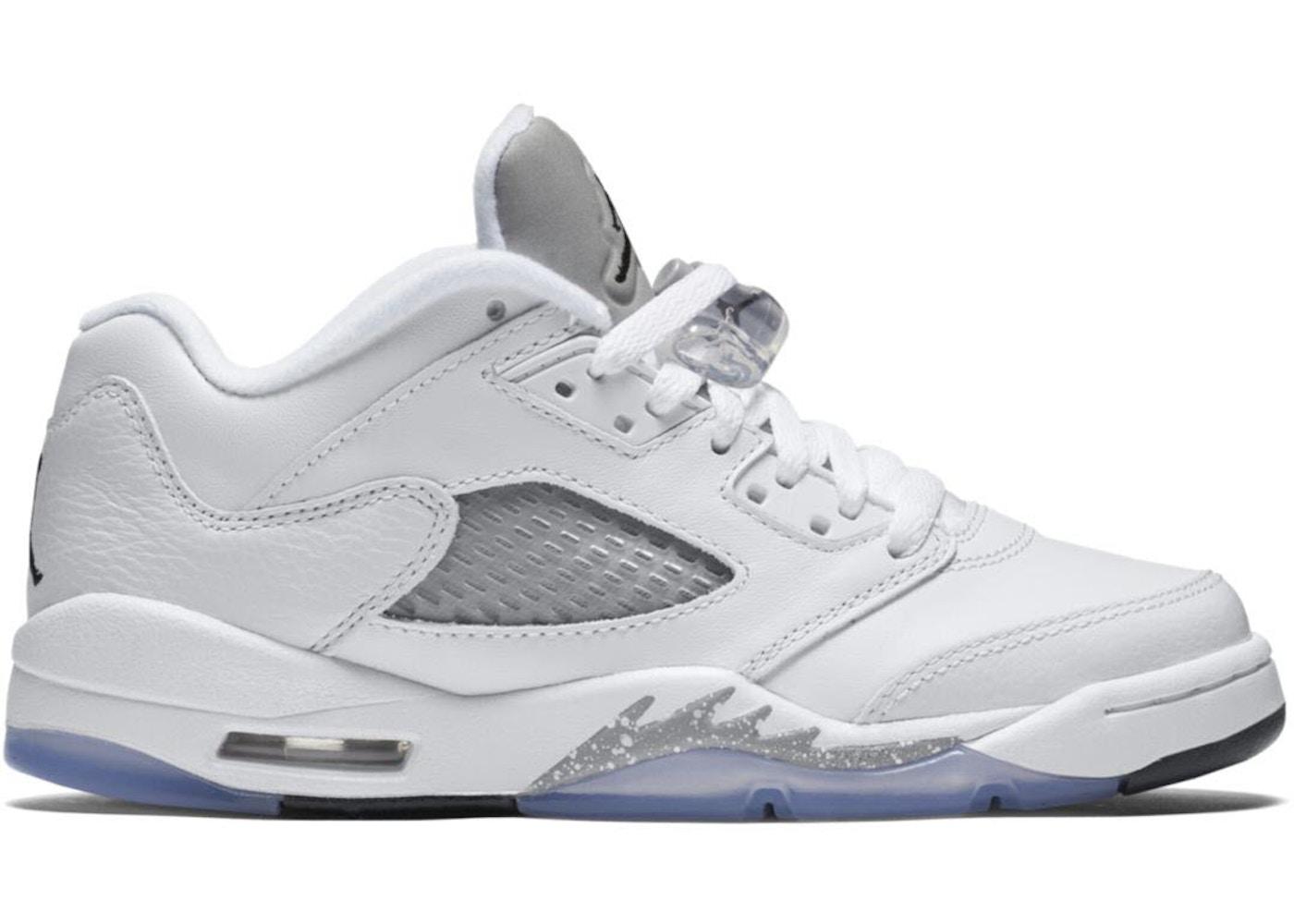 quality design 2d850 ff9e6 Jordan 5 Retro Low Wolf Grey (GS)
