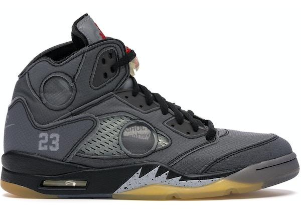 Jordan 5 Retro Off White Black Ct8480 001