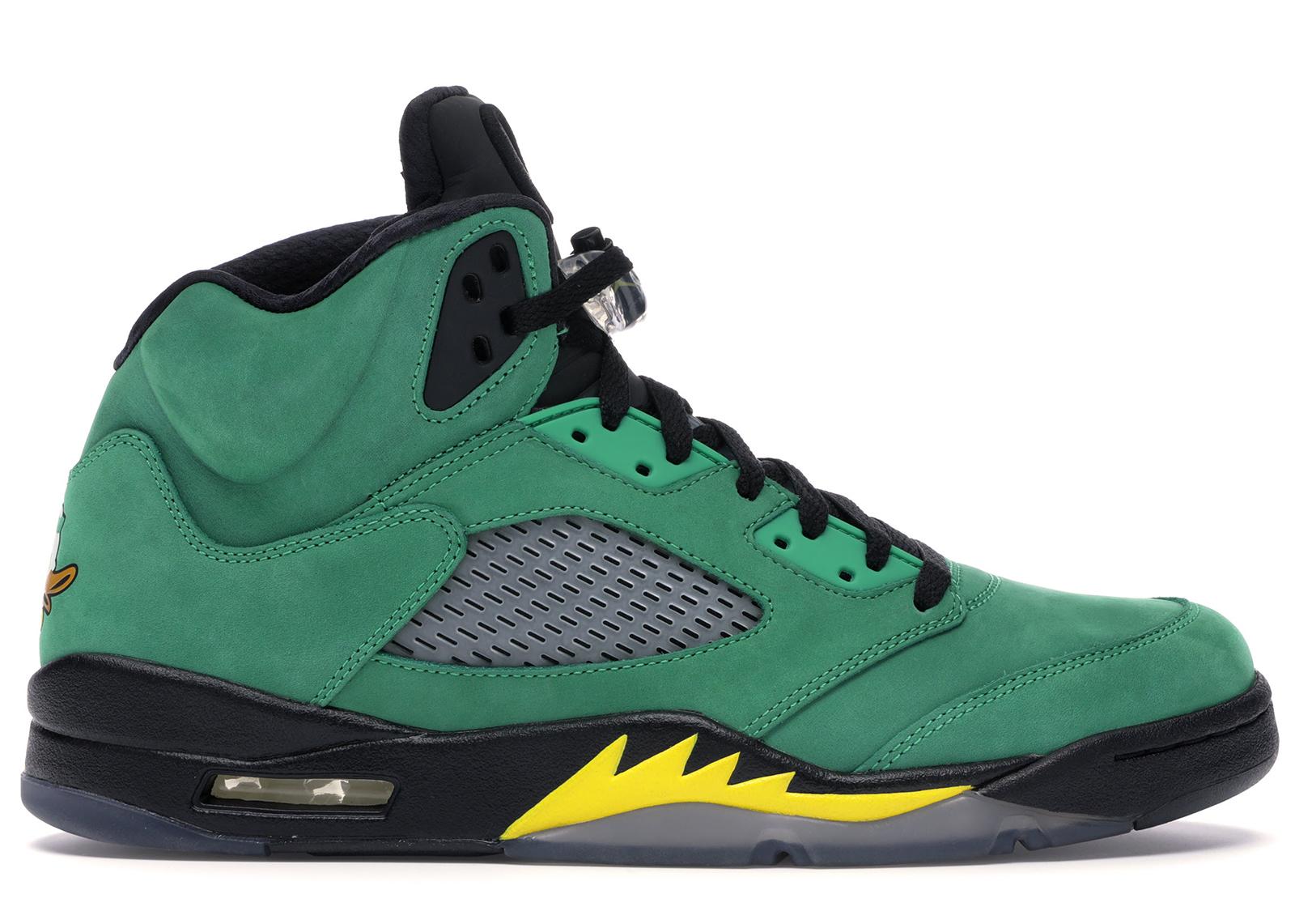 Jordan 5 Retro Oregon Ducks - 454803-535