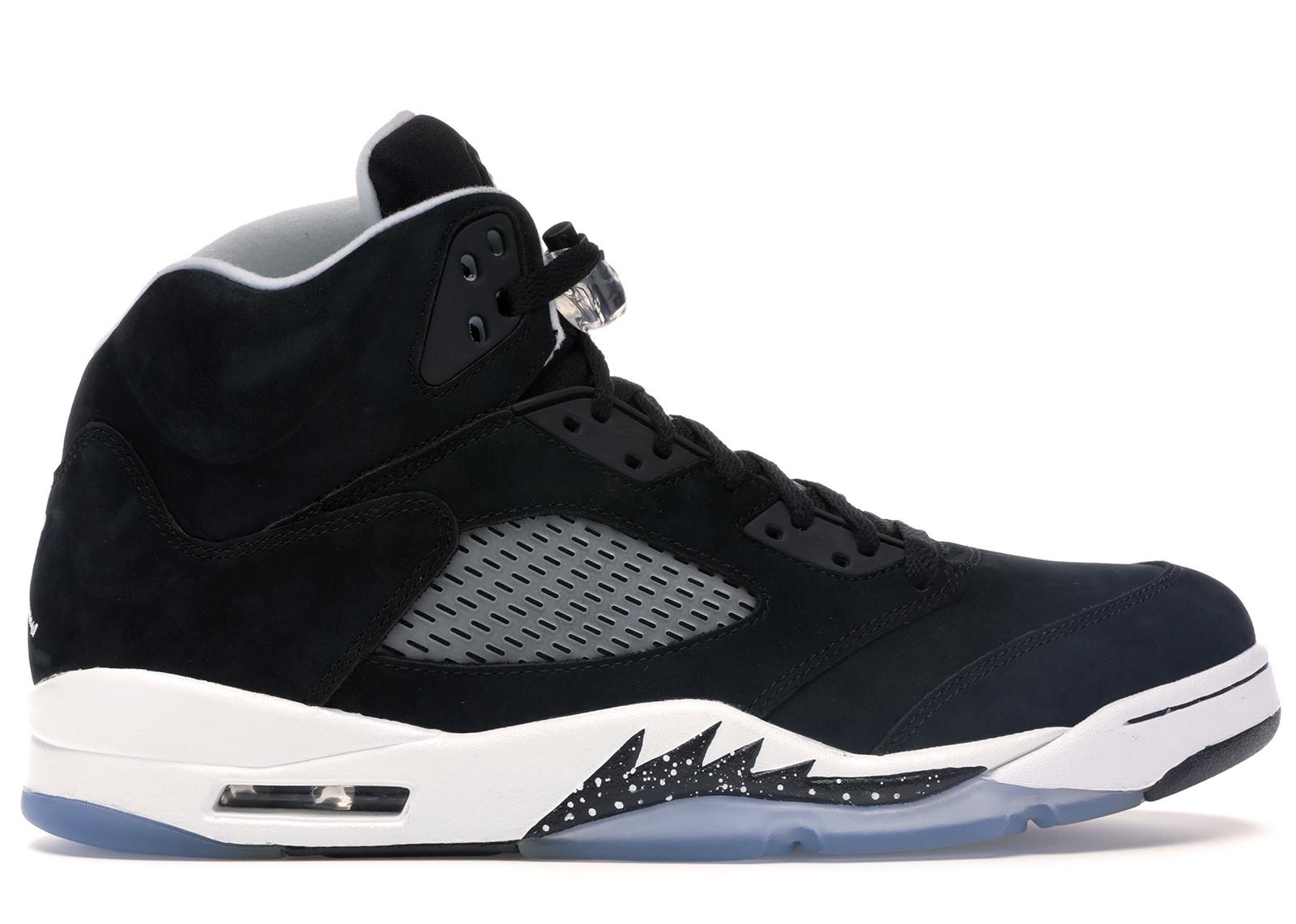 Nike Herren Air Jordan 5 Retro Niedrige Sneaker, Black, Cool