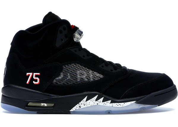 photos officielles 57ffb a8150 Jordan 5 Retro Paris Saint-Germain
