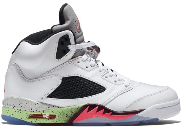 official photos 1b41b 06f27 Jordan 5 Retro Poison Green - 136027-115