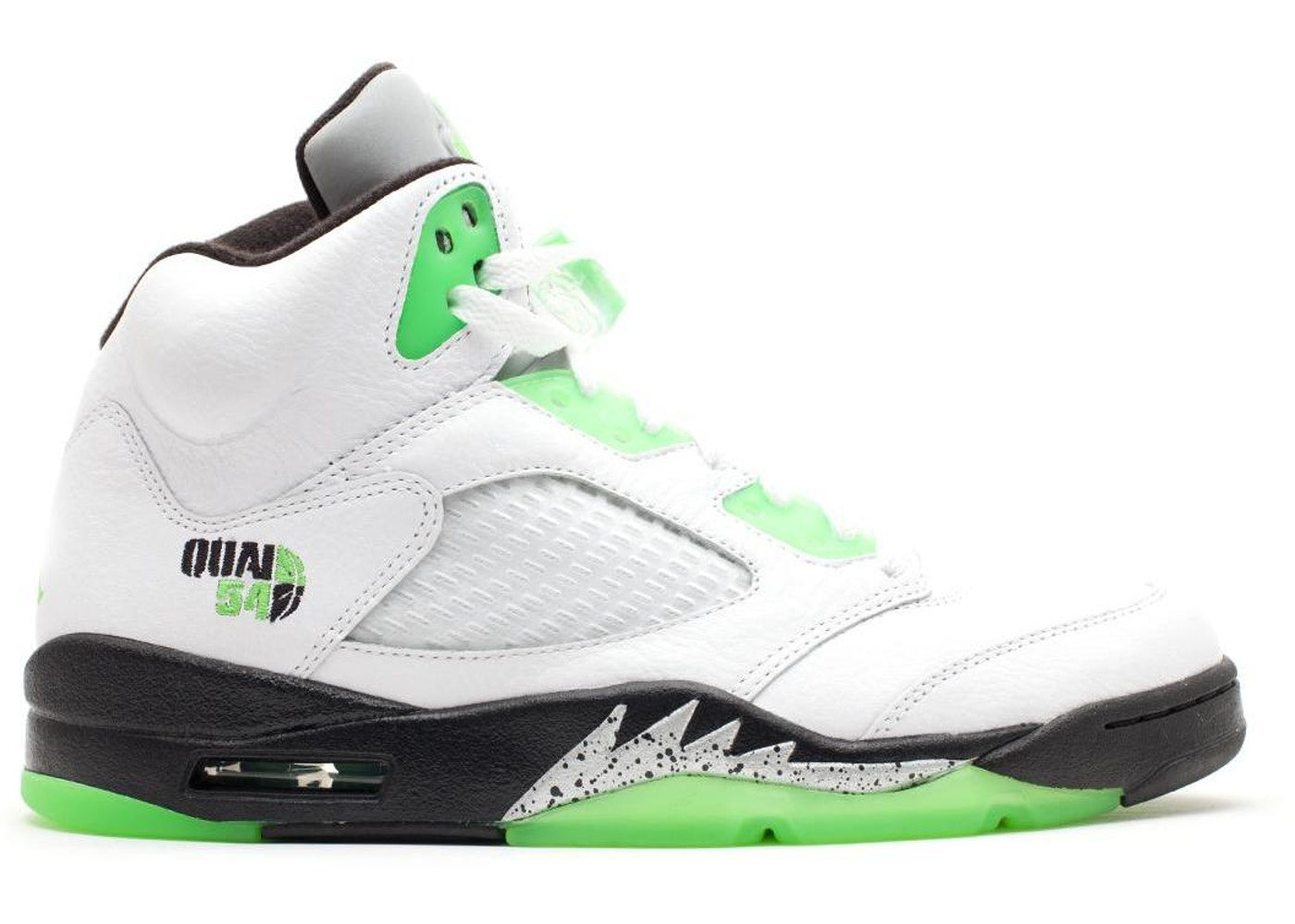 Jordan 5 Retro Quai 54 White - 467827-105 6b9a5f6e7682