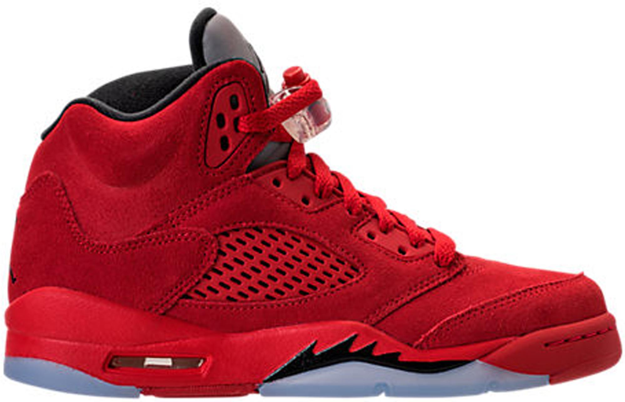 new product b4f58 c4714 ... shop jordan 5 retro red suede gs 583ea 8a976