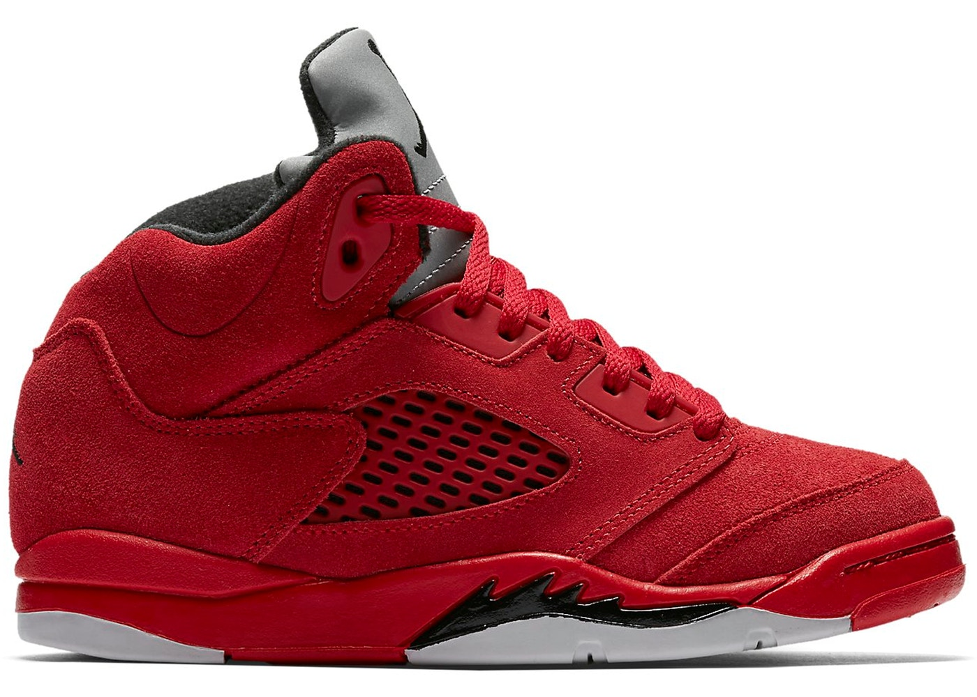 eeb165f6eb3 Jordan 5 Retro Red Suede (PS) - 440889-602