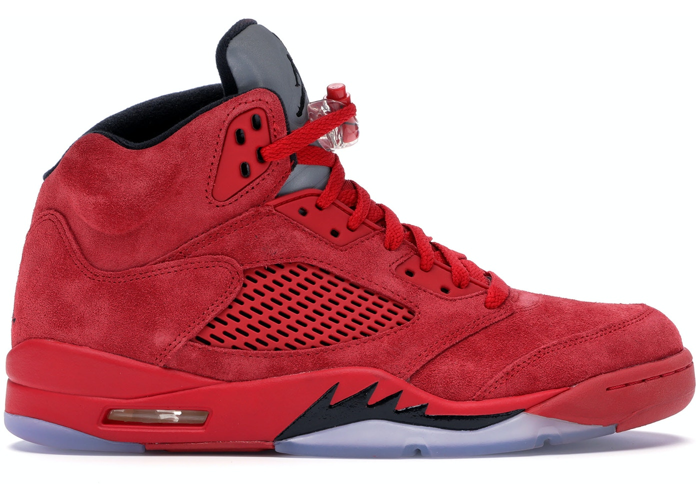 4a29750b97bf Jordan 5 Retro Red Suede - 136027-602