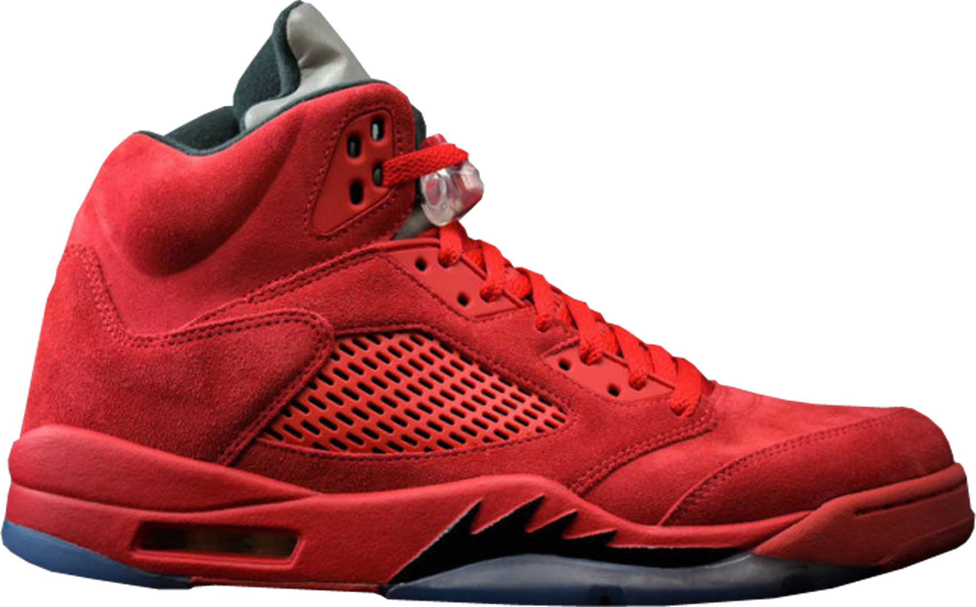 red air jordan retro 5