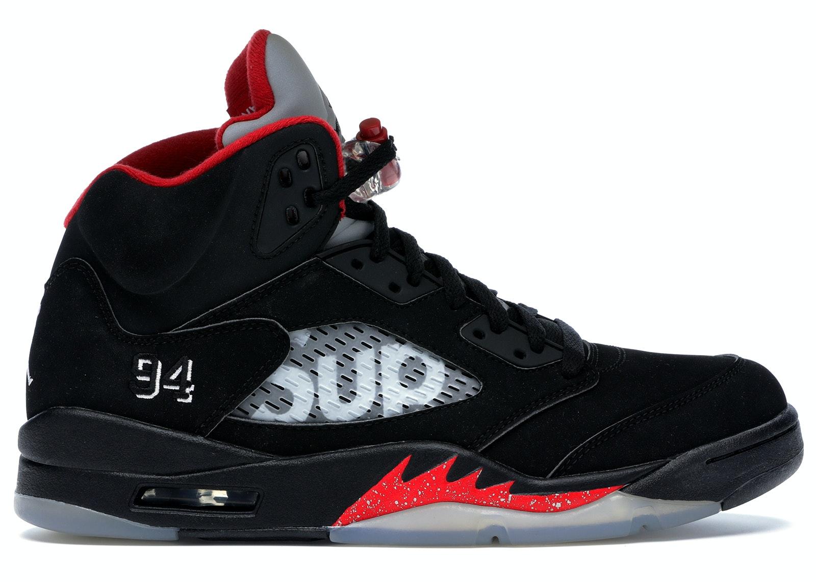 Retro 5 Jordans Black