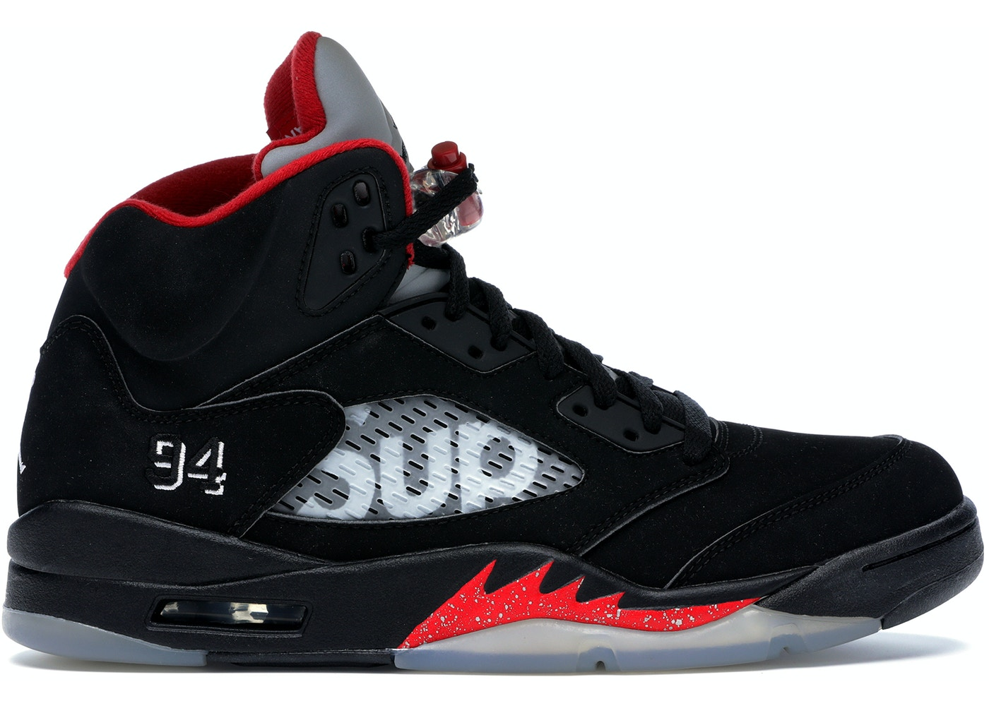 40802000 Jordan 5 Retro Supreme Black - 824371-001