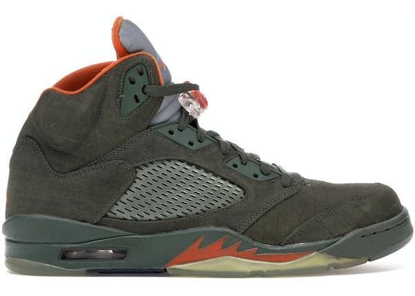 5ab250e0c4b Air Jordan 5 Shoes - Average Sale Price