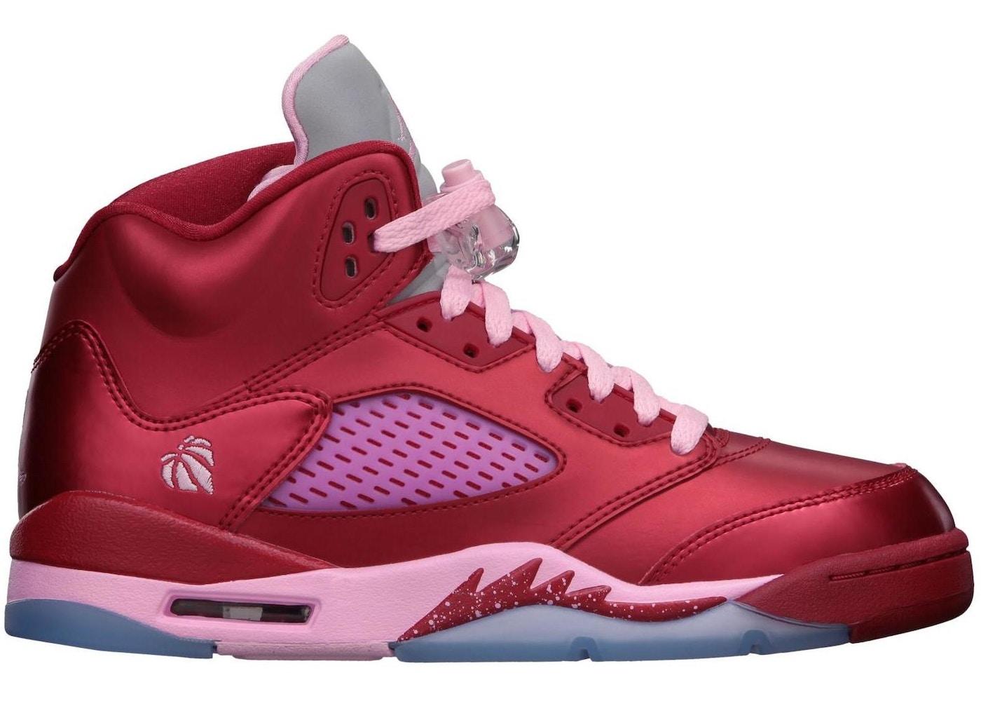 7a8dd14d54a6 HypeAnalyzer · Jordan 5 Retro Valentines Day (GS)