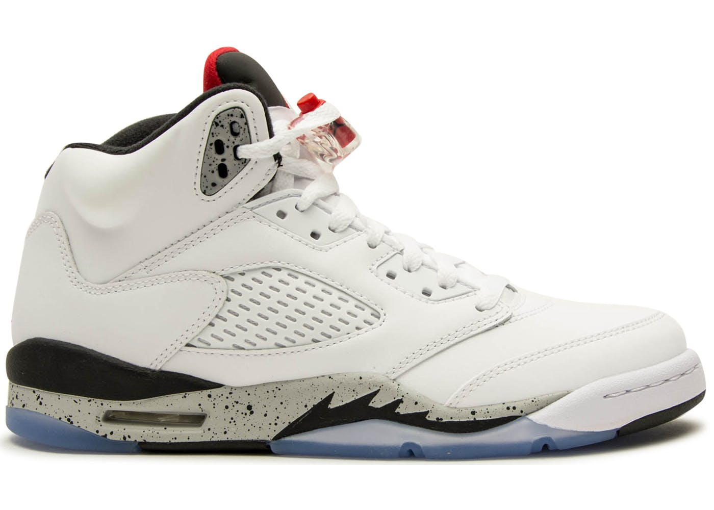 White Retro: Jordan 5 Retro White Cement (GS