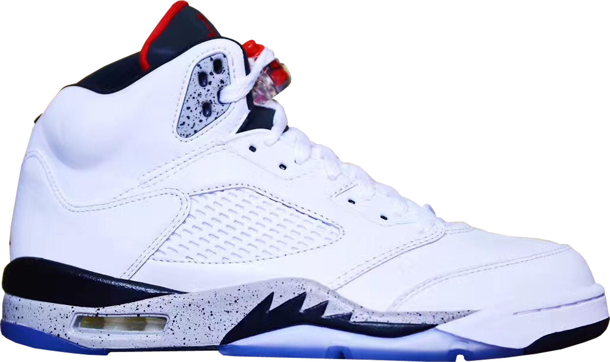 Jordan 5 Retro White Cement