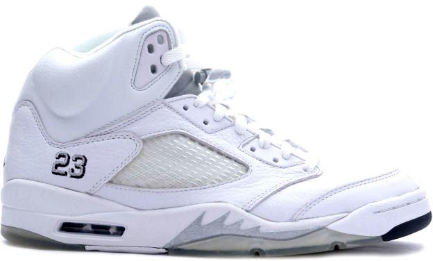 Jordan 5 Retro Metallic White (2000