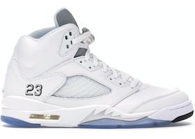 5011807e63cd Jordan 5 Retro Metallic White (2015) - 136027-130