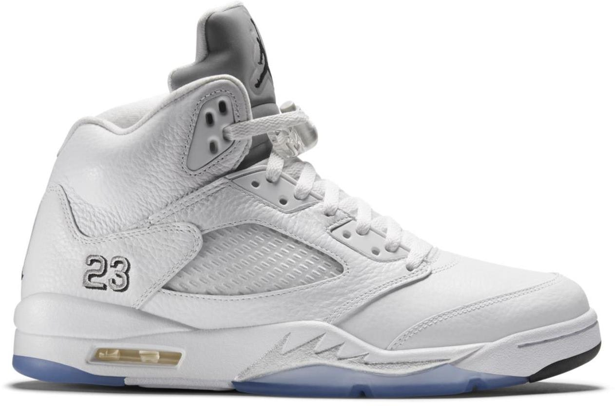 Jordan 5 Retro Metallic White (2015)