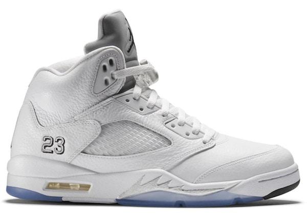 Jordan 5 Retro Metallic White (2015) - 136027-130 b70c377cf