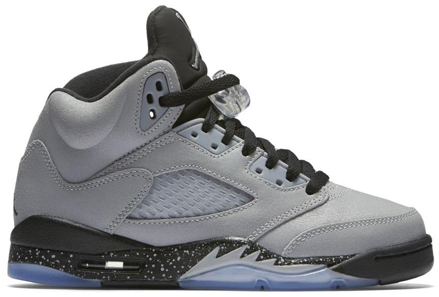 Jordan 5 Jordan Wolf Retro Retro Wolf 5 GreyGS 5L4AjR