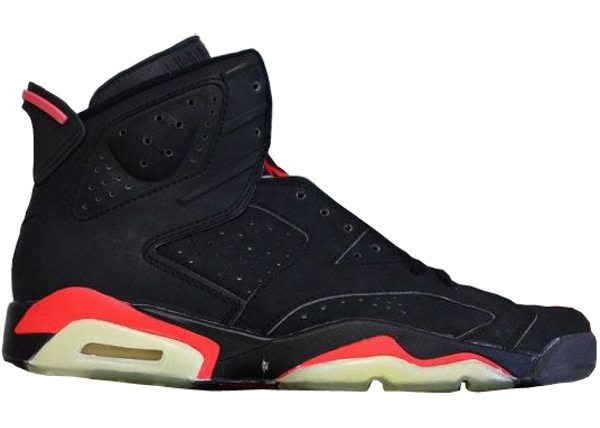c77e50db23adc6 Jordan 6 OG Infrared Black (1991) - 4391