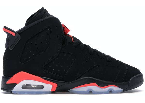 new arrival 95201 44ed8 Jordan 6 Retro Black Infrared 2019 (GS) - 384665-060