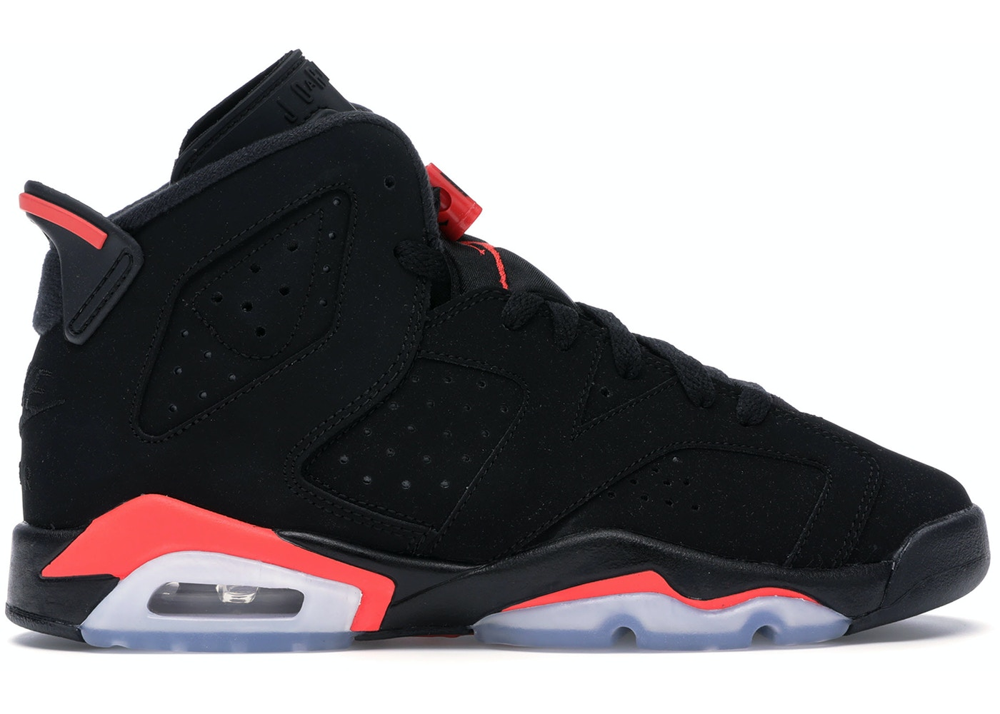 new arrival e70e7 45cb4 Jordan 6 Retro Black Infrared 2019 (GS) - 384665-060