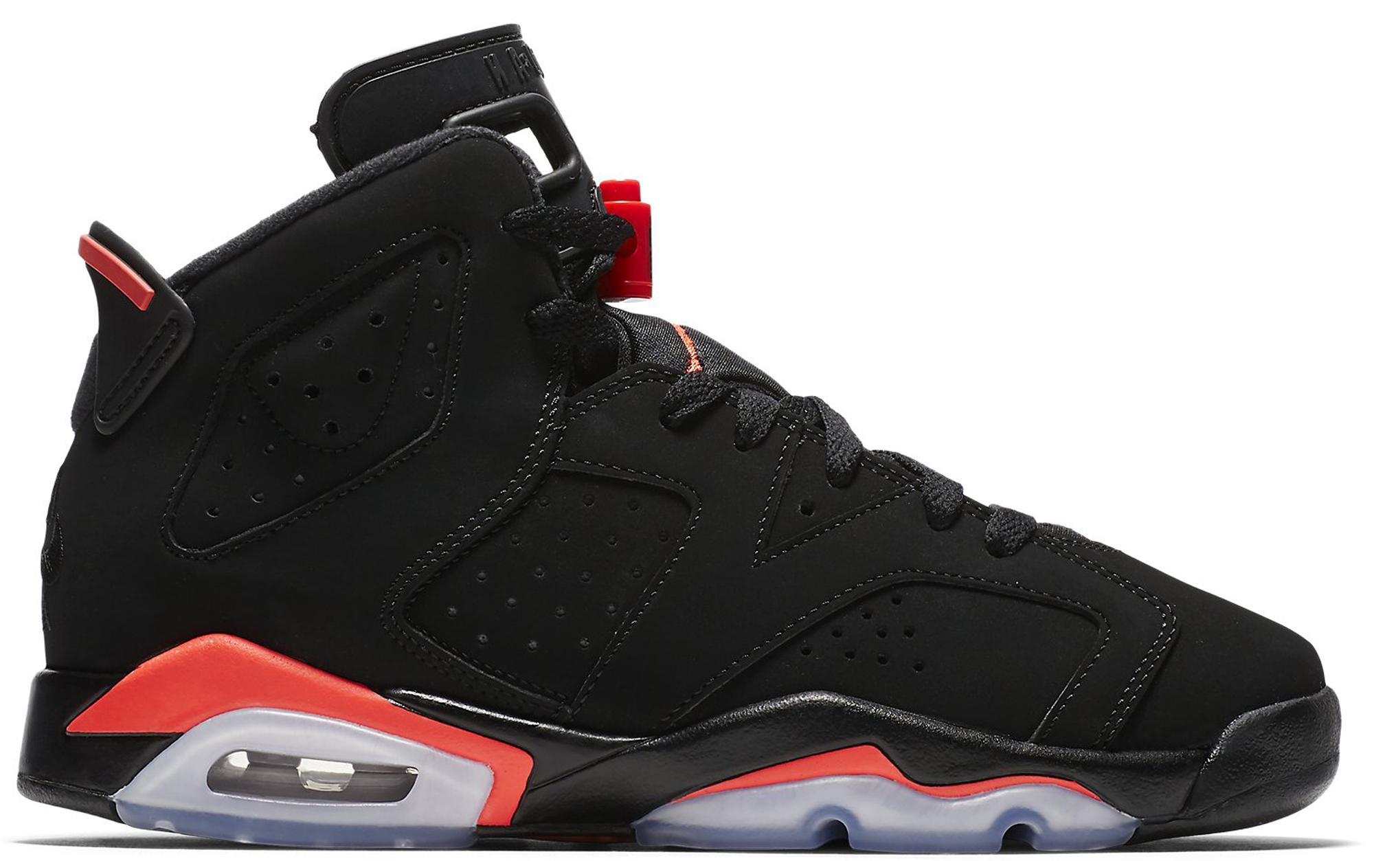 Jordan 6 Retro Black Infrared 2019 (GS)