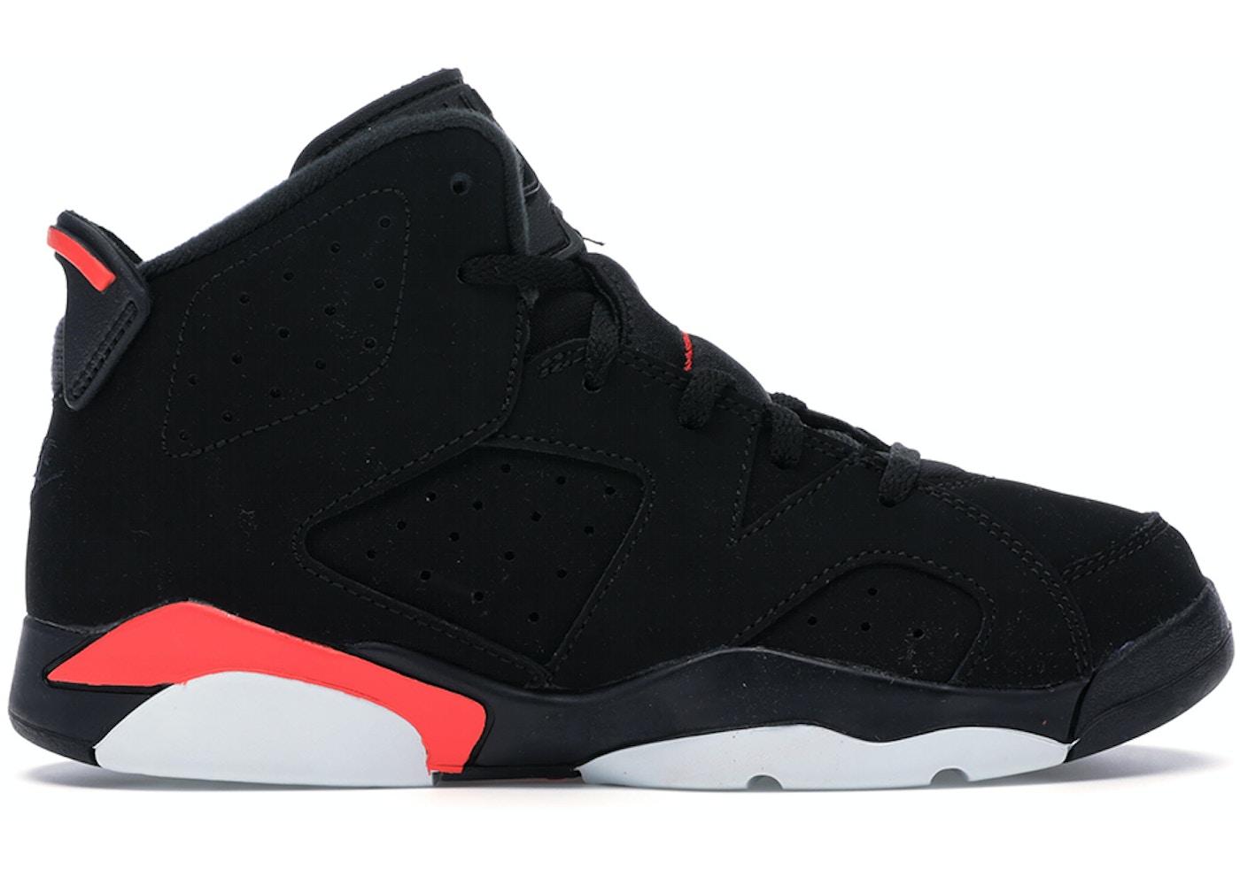 hot sale online 8d7c0 d049b Jordan 6 Retro Black Infrared 2019 (PS)