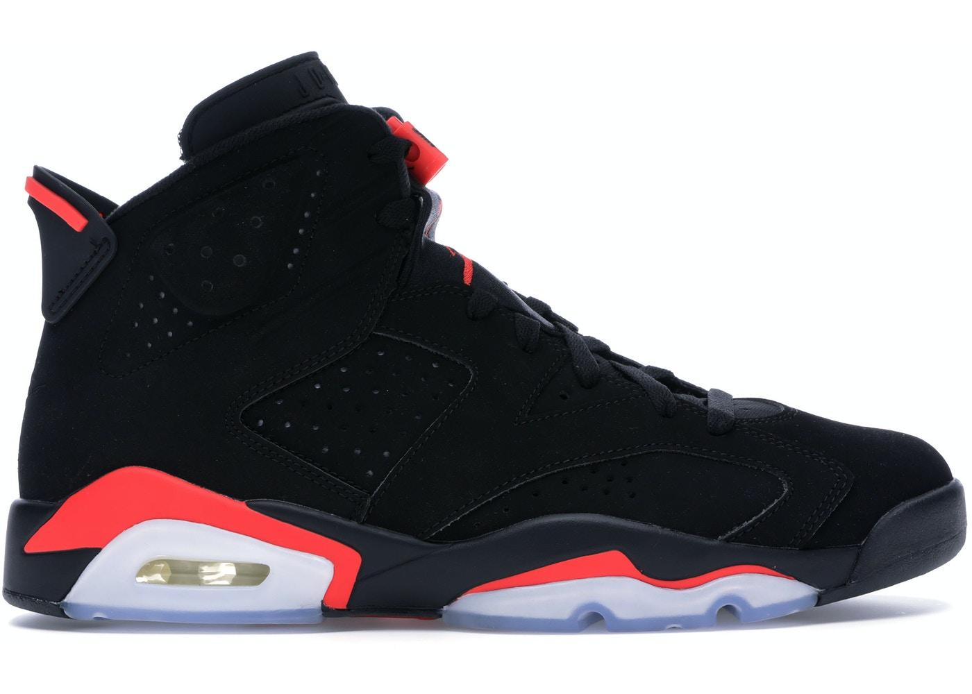 sports shoes 6eb11 6d92c Jordan 6 Retro Black Infrared (2019) - 384664-060