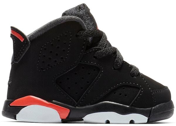 hot sale online 6e3f2 b599d Jordan 6 Retro Black Infrared 2019 (TD) - 384667-060