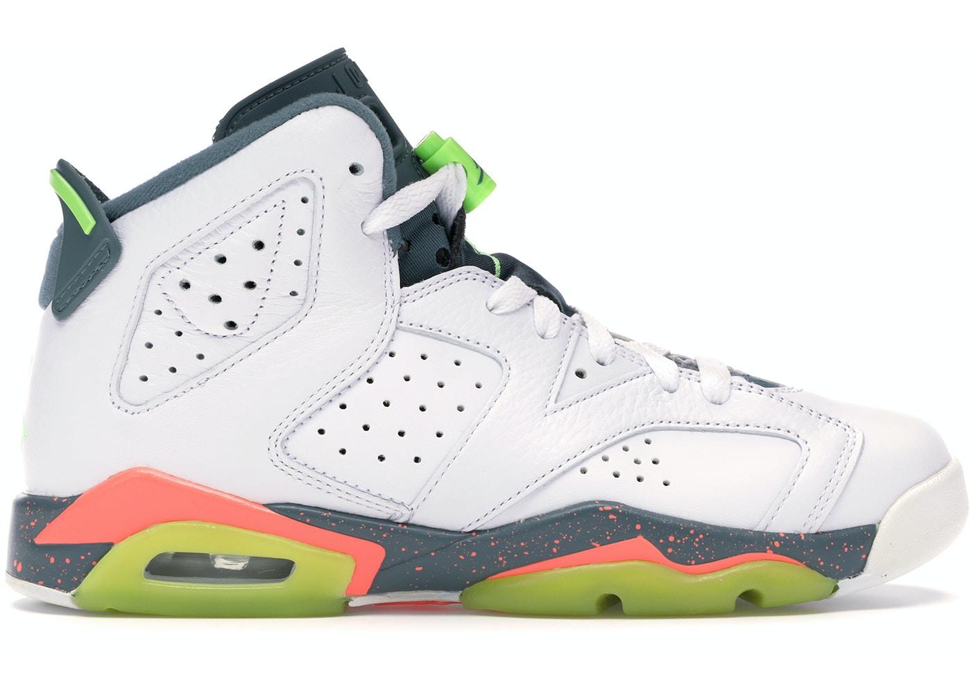best sneakers 3bd84 45349 Jordan 6 Retro Bright Mango (GS) - 384665-114