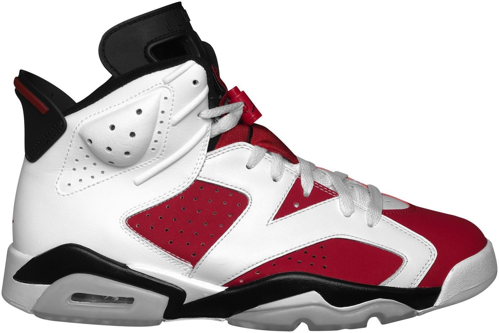 Jordan 6 Retro Carmine CDP (2008)