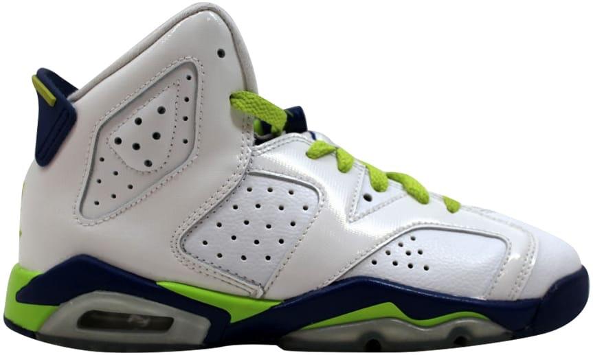 Jordan 6 Retro Fierce Green (GS)