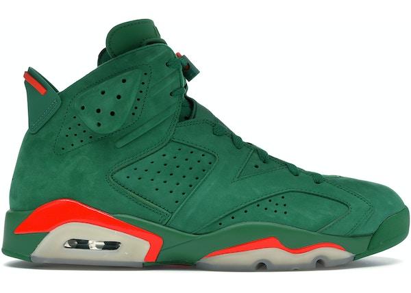 info for 4a315 ff914 Jordan 6 Retro Gatorade Green - AJ5986-335