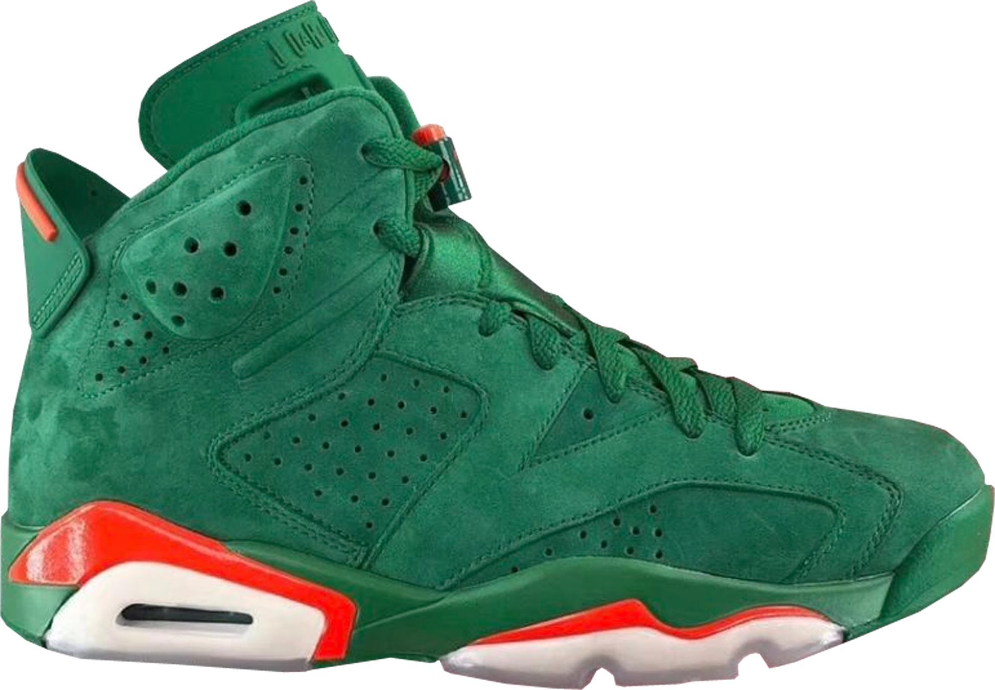 Air Jordan 6 Chaussures Stock Vert De Gatorade X