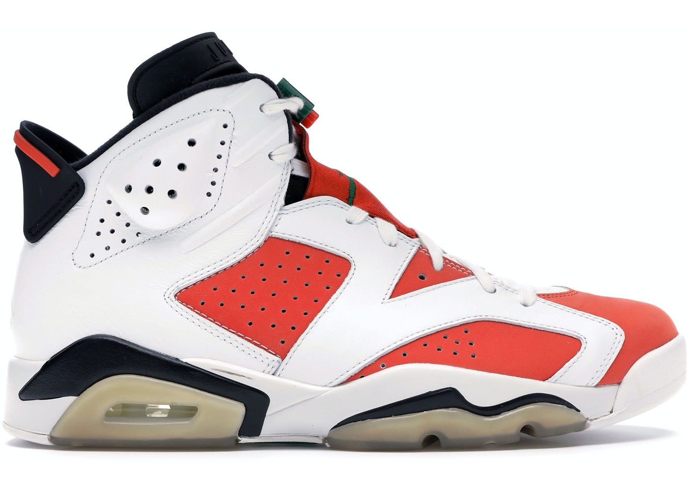 17981e51545 Jordan 6 Retro Gatorade Like Mike White - 384664-145