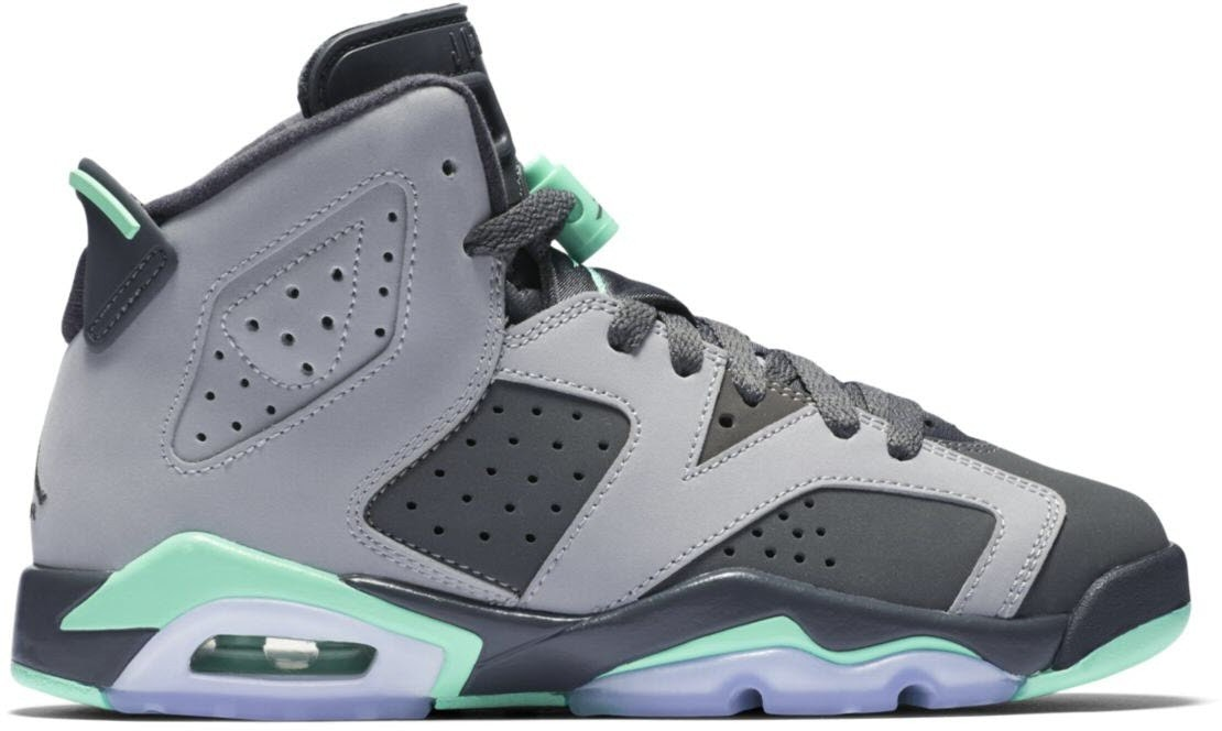 Jordan 6 Retro Green Glow (GS)