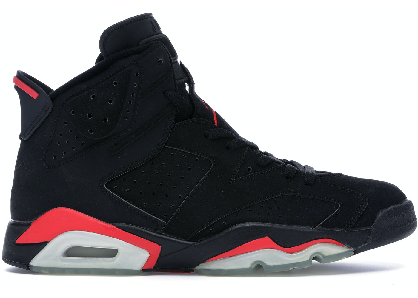 b9d9655d09c Jordan 6 Retro Infrared Black (2000) - 136038-061