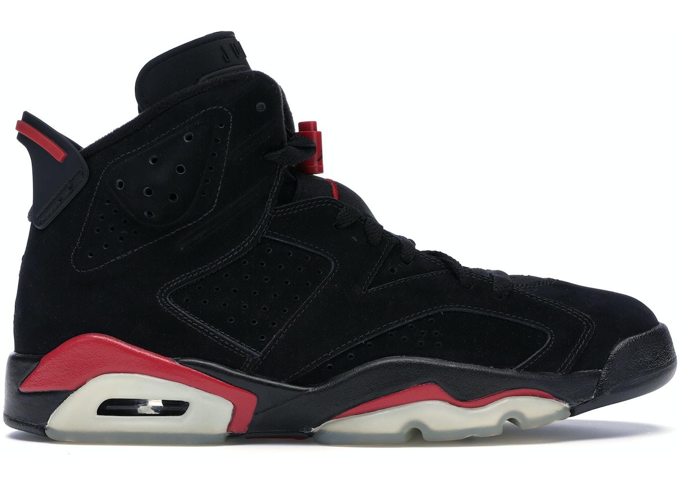 Jordan 6 Retro Black Varsity Red 2010 384664 061