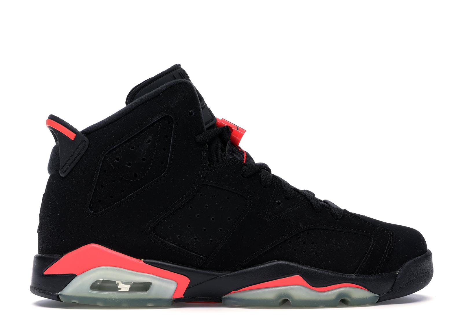 Jordan 6 Retro Infrared Black 2014 (GS