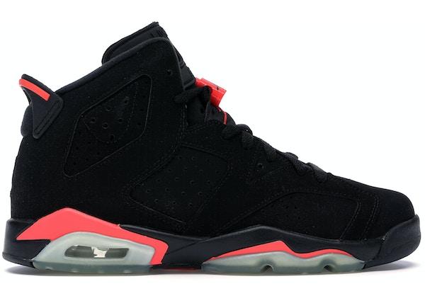check out 034b4 59e98 Jordan 6 Retro Infrared Black 2014 (GS)