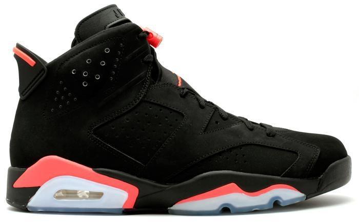 Jordan 6 Retro Infrared Black (2014)