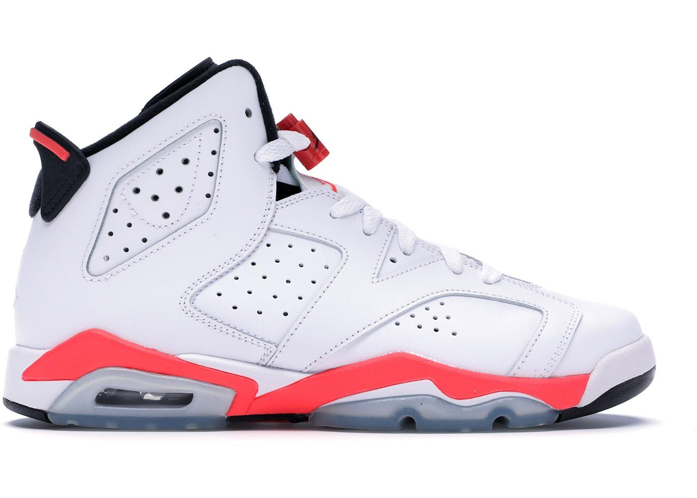 the latest 815f4 46e25 Jordan 6 Retro Infrared White 2014 (GS) - 384665-123