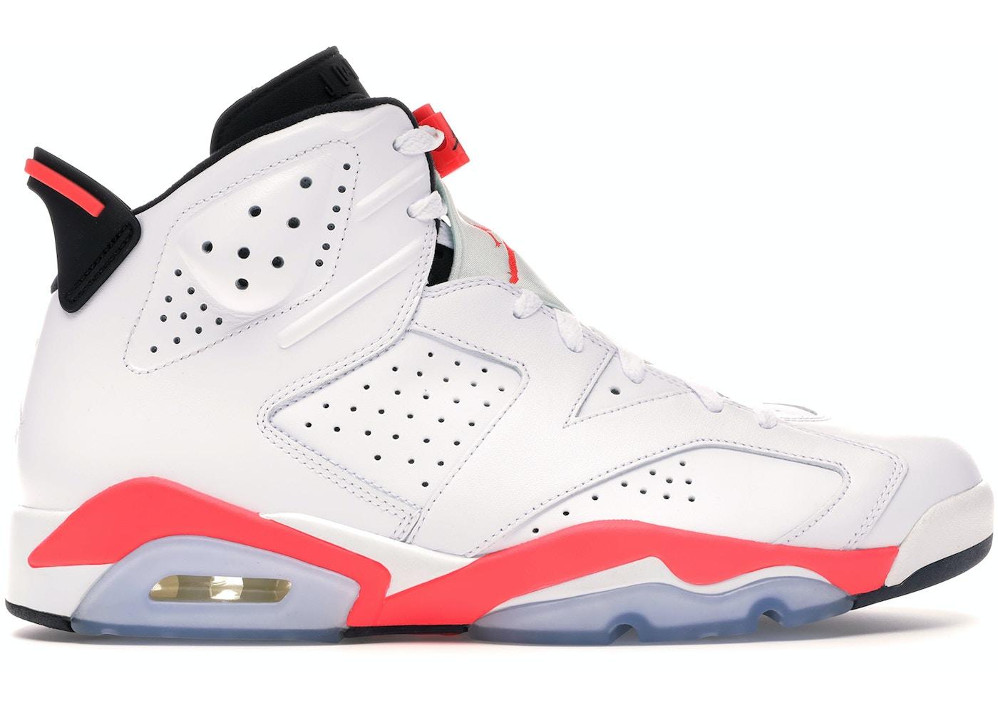 nice cheap hot sale online size 40 Jordan 6 Retro Infrared White (2014)