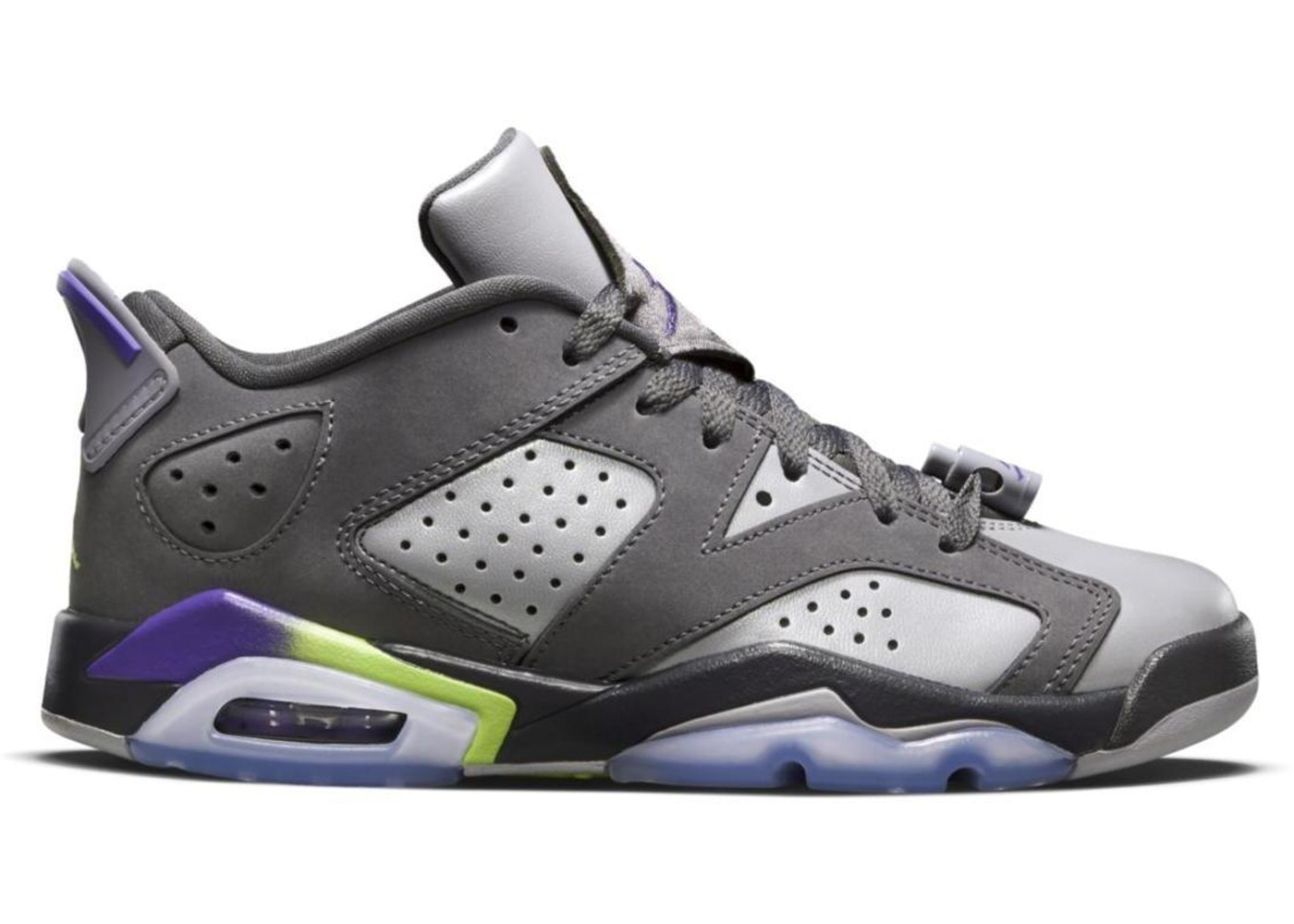 separation shoes 53187 4f8df Jordan 6 Retro Low Dark Grey (GS)