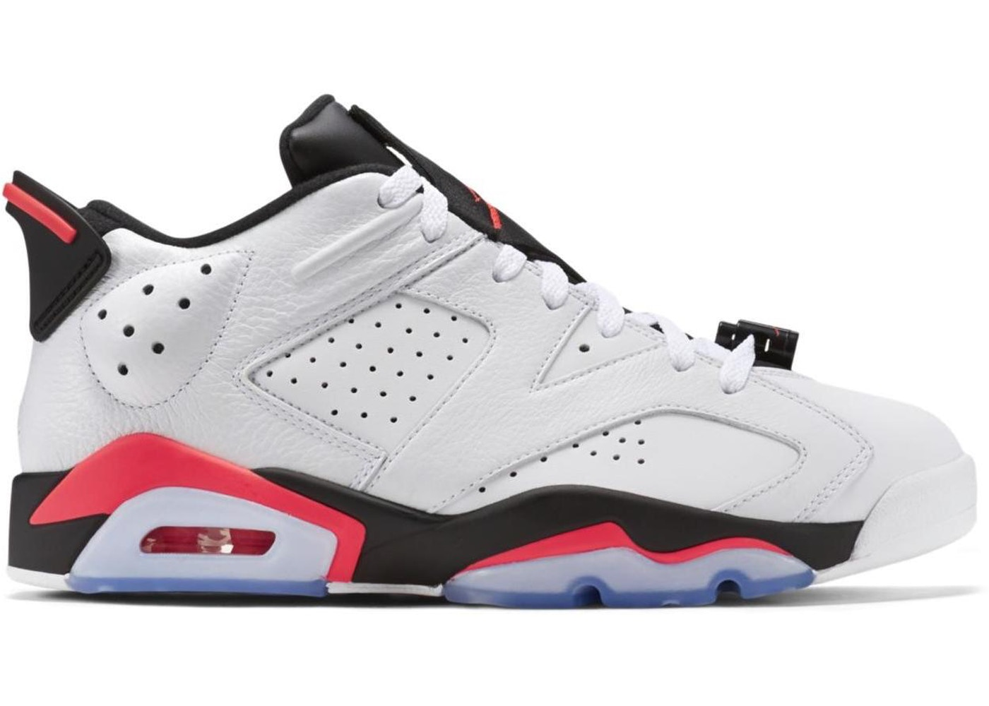 huge discount cb834 f9a63 Jordan 6 Retro Low Infrared White