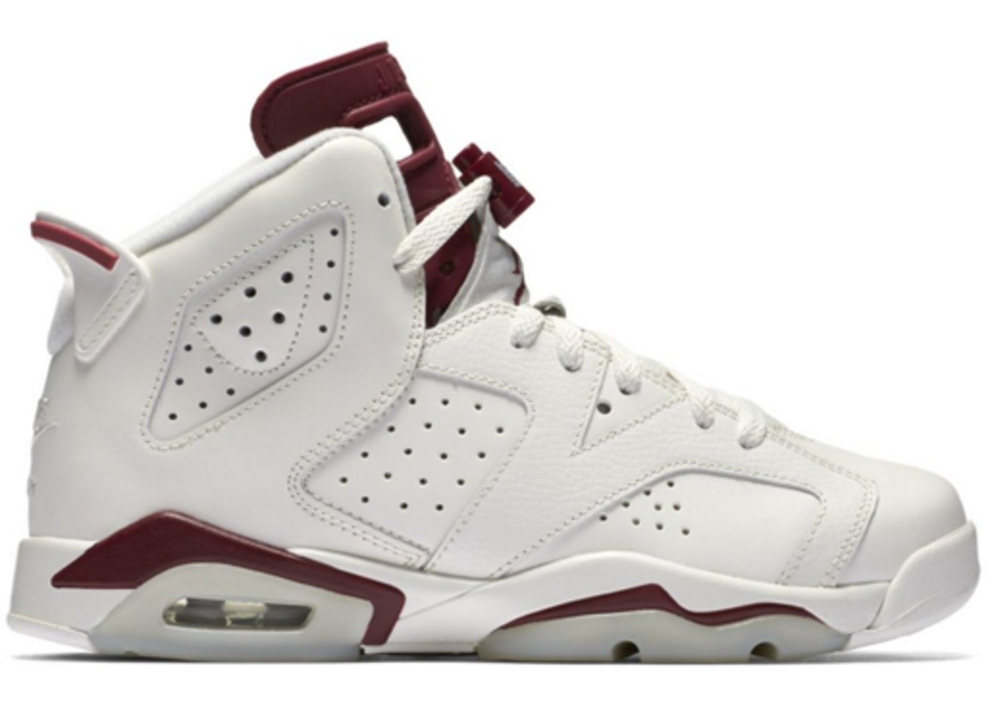 100% authentic 30779 a2209 Jordan 6 Retro Maroon 2015 (GS)
