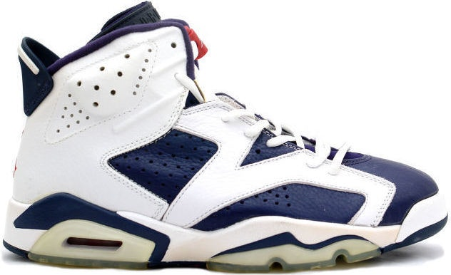 Jordan 6 Retro Olympic Sydney (2000)