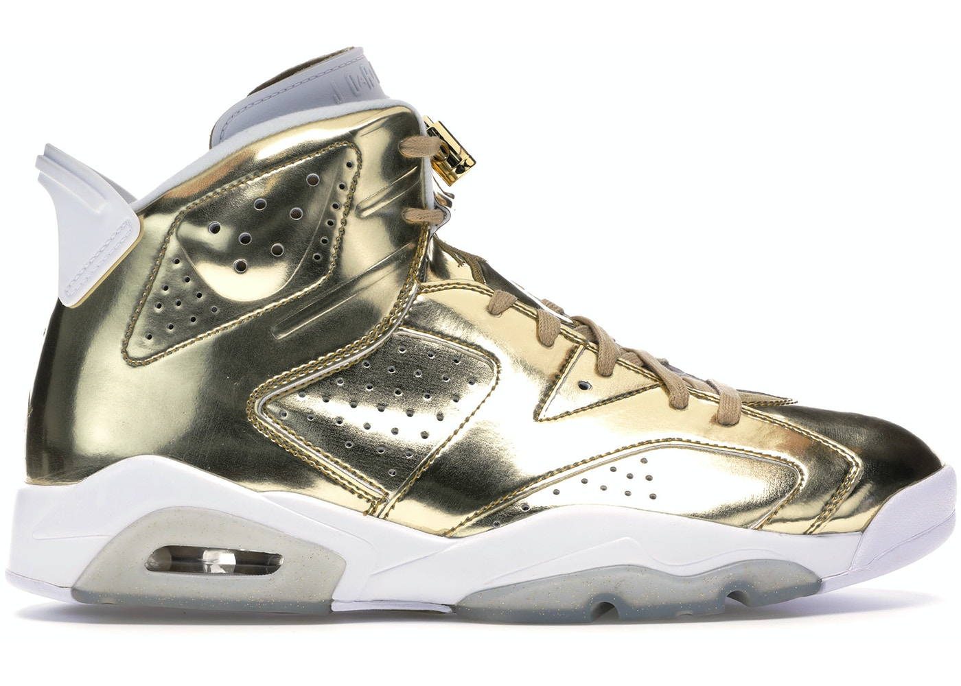premium selection 9f6a1 5adbb Jordan 6 Retro Pinnacle Metallic Gold