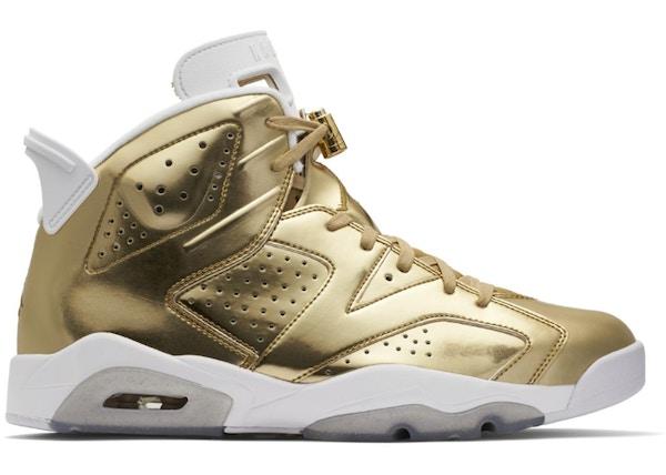 Air Jordan 6 Pinnacle gold size 15