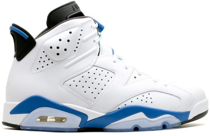 Jordan 6 Retro Sport Blue (2014